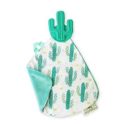 Doudou de dentition cactus de Malarkey Kids