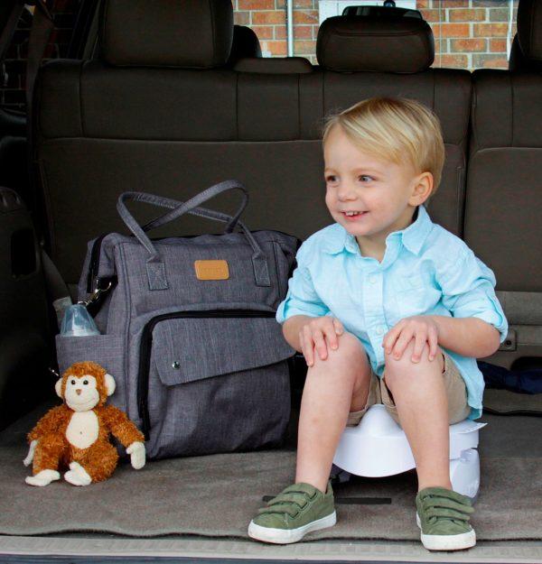 Pot bébé de voyages Premium de Potette Plus