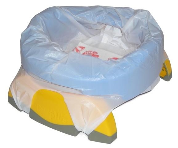Recharges jetables pour pot enfant de voyages Potette Plus