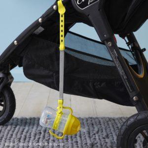 Attache bébé anti-chutes d'objets en silicone - B.box