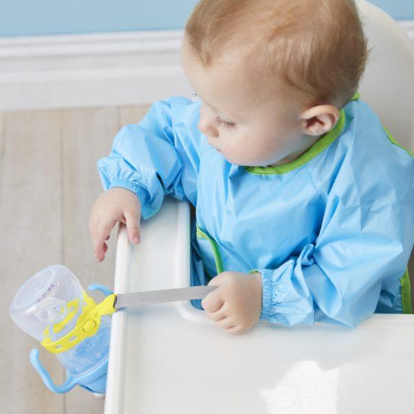 Attache bébé anti-chutes d'objets - gris - B.box