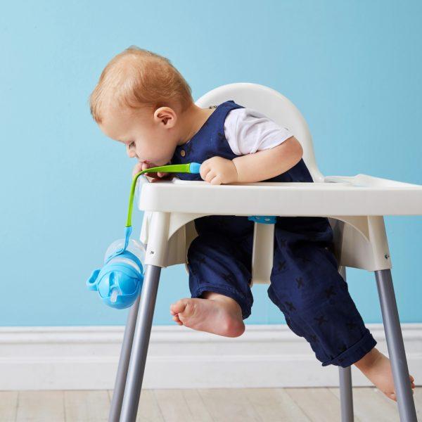 Attache bébé anti-chutes d'objets B.box - Ocean