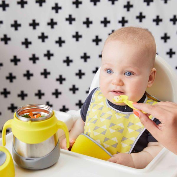 boite repas isotherme jaune de B.box