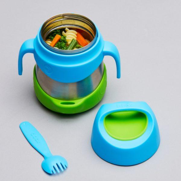 Boite repas en inox isotherme - B.box Bleu