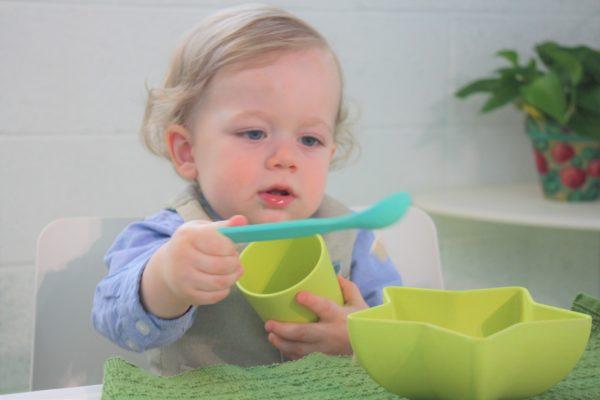 Coffret vaisselle bambou enfant Pacific Baby