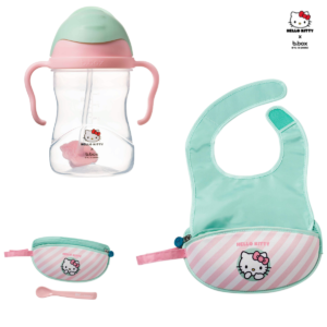 Hello-kitty-tasse-apprentissage-et-bavoir-de-voyages-b.box